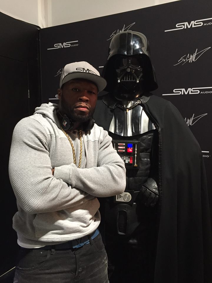 50cent starwars gunit CurtisJackson hiphopmusic rap darthvader hollywood weknowthetruth nevertrump trump entertainment